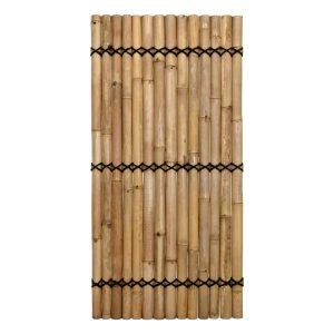 halfrond bamboescherm 100 x 180 cm