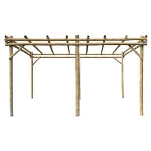 Bamboe Pergola Guadua 3 x 6 m